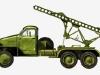 Реактивная установка БМ-13Н - фото взято с электронной энциклопедии Военная Россия