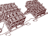 300-мм пусковой станок М-30 - фото взято с электронной энциклопедии Военная Россия