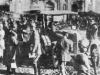 Кайзер Вильгельм Второй посещает итальянский плац, на котором проводятся военные смотры.