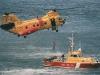 Многоцелевой транспортный вертолёт Boeing Vertol CH-46 Sea Knight.