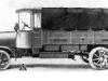 Военный грузовой автомобиль ''Дюркопп'' L 60, мощностью 37-39 л. с, с полезной нагрузкой Зт, 1914-1919 ГГ. (входил в репарационные поставки).