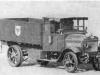 Четырехтомный грузовой автомобиль «Опель», 1915 г., с цепной передачей, четырехцилиндровым двгателем объемом 7 л. мощностью 50 л, с. Показанный на рисунке отреставрированный автомобиль выставлен в музее автомобильной техники в Синсгайме.