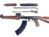 7,62-мм автомат AK-47 № 1. Неполная разборка.Фото с сайта www.sinopa.ee