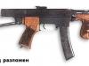 7,62-мм ПИСТОЛЕТ-ПУЛЕМЕТ СИСТЕМЫ М.Т. КАЛАШНИКОВА. Фото с сайта www.sinopa.ee