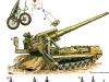 203-мм самоходная пушка 2С7 Пион - фото взято с электронной энциклопедии Военная Россия