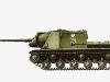 122-мм самоходная артиллерийская установка ИСУ-122 -