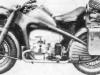 Тяжелый мотоцикл 750 см3 с коляской модели ''Цюндапп'' КS 750