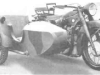 Тяжелый мотоцикл 750 см3 BMW R12 с коляской