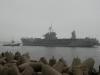 """Флагман 6-ого флота США """"Mount Whitney"""" в Клайпеде"""