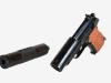 9-мм пистолет ПБ Дерягин 1967  - фото взято с сайта http://handgun.kapyar.ru/