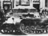Тягач для подвоза боеприпасов на шасси танка Рz I А во Франции.
