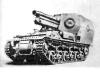 150-мм тяжелая полевая гаубица 13 на гусеничном шасси тягача ''Лоррэн'' (Франция)
