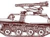 РСЗО БМ-8-24. Рисунок с сайта http://www.kursk1943.mil.ru