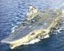 """Тяжёлый авианесущий крейсер проекта 1143.5 \""""Адмирал Кузнецов\"""". Фото с сайта www.naval-technology.com"""
