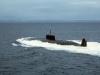 Атомная подводная лодка с крылатыми ракетами Проект 661 Анчар - фото взято с электронной энциклопедии Военная Россия