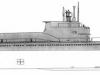Дизельная подводная лодка с крылатыми ракетами Проект П-611 - фото взято с электронной энциклопедии Военная Россия