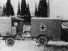 Санитарный автомобиль с прицепом для санитарного оборудования и перевязочных материалов ''Бенц'' (Гаггенау), 1914г.
