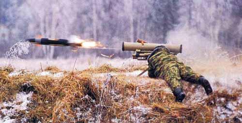 """Противотанковый ракетный комплекс 9К115-2  """"Метис-М """"."""