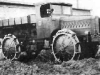 Изготовленный примерно в 1917 г. тягач ''Бюссинг'' со всеми ведущими колесами.