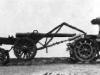 Транспортное средство для равномерного распределения крупногабаритных грузов фирмы ''Бройер'', с тягачом ''Бюссинг''.