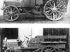 Фирма ''Бенц'' (Гаггенэу) изготовила в 1918 г. силовой передок ''Бенц-Бройер'' КП с четырех цилиндровым двигателем 45 л. с. Это был обычный легкий грузовой автомобиль старой коиструкции, задние колеса которого имели колесные пояса, которые позволяли перемещаться вперед по обочине дорог и преодолевать небольшие препятствия.