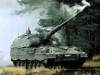 Механизация процесса заряжания позволяет немецкой 155-мм САУ РzН 2000 отстреливать по три снаряда за 9 секунд. Оказавшись внутри бронированного корпуса, все снаряды и модульные заряды подаются, отбираются и заряжаются автоматически. Таким образом, при необходимости состав орудийного расчете может быть сокращен с пяти до трех человек.
