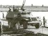 Страны Варшавского договора и некоторые другие государства имели на вооружении оснащенный спаренными 14,5-мм пулеметами БТР-152 на колесном шасси.