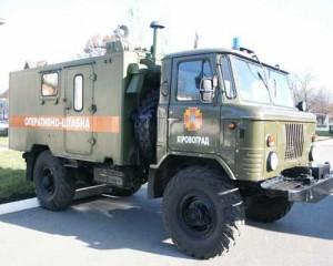 Командно-штабная машина (КШМ) Р-142Н. Фото с сайта fire.kr.ua