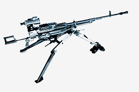 Устройство пулемета - схема, чертеж Хотя первый настоящий пулемет появился в 1883 году его .