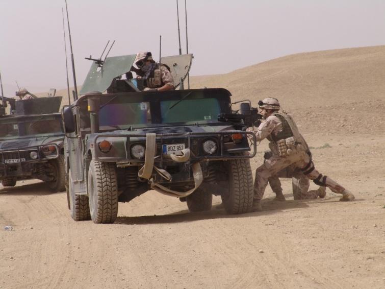 Литовские военные в Афганистане. Фото с сайта Министерства охраны края Литвы