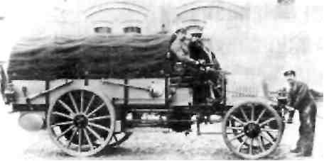 Военный грузовой автомобиль фирмы ''Даймлер'' 1904 г.