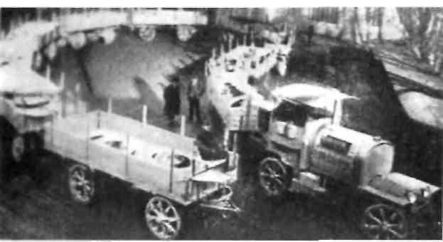 Авто поезд Даймлер-Ландвер С 1910 по 1913 г.