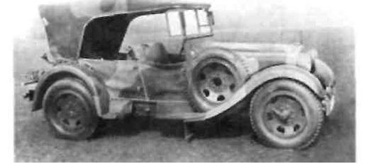 """Мерседес-Бенц"" тил 290-1 (1934-1935 гг.)."