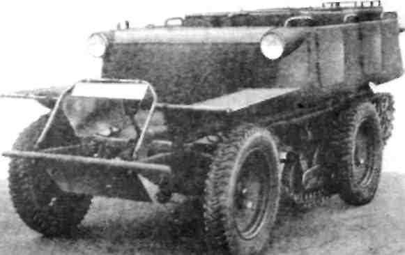 Модель ''Аустро-Даймпер'' ADMK-WARK с кузовом в 1940 г.