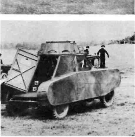 ''Гебмюлер'', установленные на шасси автомобиля-фургона ''Опель'' R4.