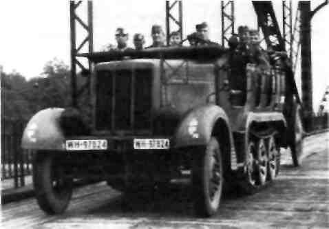 Автомобиль-тягач силой тяги 5 т типа ВN L7, выпуска 1936/37 гг.