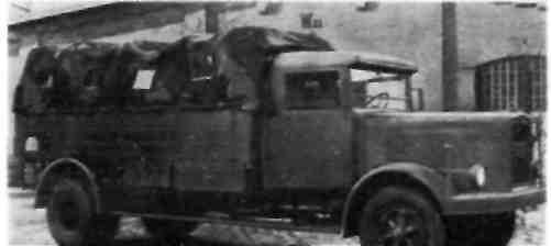 MAN тип F1 X 6. грузоподъемностью 6 т, 1935 г.