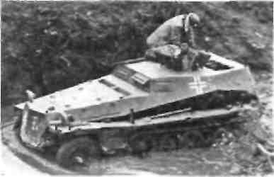Легкий БТР для наблюдателей Sd Kfz 253