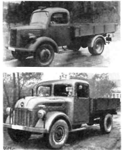 "''Мерседес-Бенц'' L 1500 S , ""Штайр"" 1500 А"