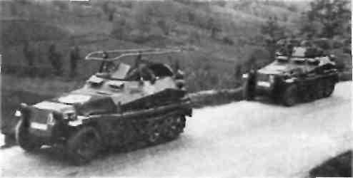 БТР (Sd Kfz 250/4)