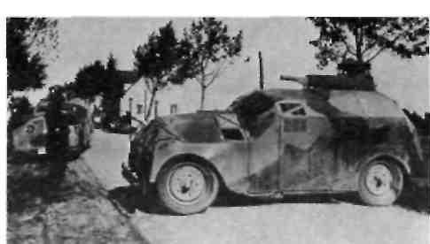 Макет танка на шасси ''Ганом маг'',2/10л.с.(1927год)