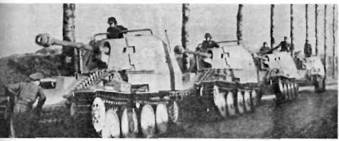 """Мардер III'' 75-мм орудие на шасси Gw. 38 (t)"