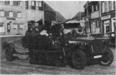 Самоходная 20-мм ЗП на учениях в 1938 г