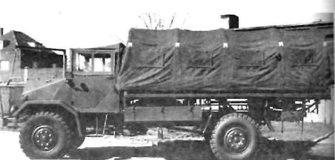 """""""Форд"""" 3 т, грузовой автомобиль вооруженных сил НАТО"""