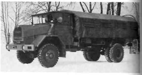 Грузовой автомобиль повышенной проходимости 5 т МАN 630 L2 А