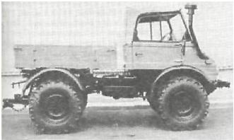 "Легкий тягач ""Мерседес-Бенц Унимог"" II 600"