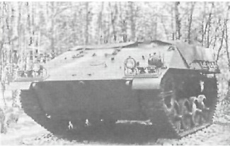 Короткий: БТР «короткий» Транспортер SRZ Kurz (только 4 ходовых колеса)