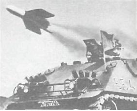 Ракетный истребитель танков НS 30.