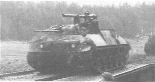 БTР НS 30 с легким орудием.
