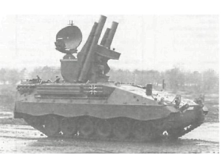 "Самоходная установка ЗУР 1 ""Роланд"""